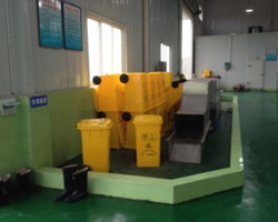 Infigroup - Marseille - Filters-Washing station for containers on wheels and others